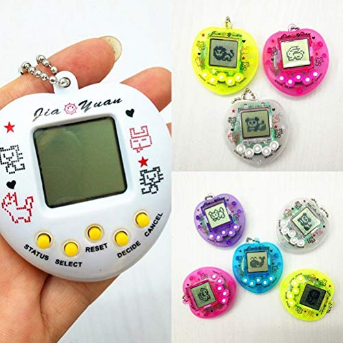 Zhongdawei Lovely Electronic Pet Toys Nostalgic 90S Electronic Pets 49 Pets in One Virtual Toy Cyber ​​Digital Pet Toys Pixel Funny Play Toys Color Aleatorio