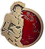 Antique Gold Spike - Cowboy Bebop Portrait Series - Collectible Pin
