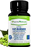 Leptin Fat Burner with Carb Inhibitor, Metabolic Weight Loss Supplement, Thermogenic Fat Burner for Men and Women, Natural Weight Loss Supplement, Appetite Suppressant, Carb Blocker - PowerbyNaturals