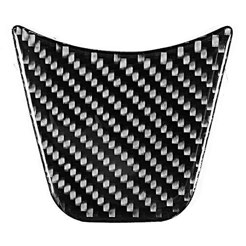 Vobor Lenkrad Dekorative Abdeckung-Auto Carbon Lenkrad Dekorative Abdeckung Trim Kompatibel mit Audi A4 B9 2017-2019