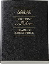 LDS Triple Combination - Book of Mormon, Doctrine and Covenants, Pearl of Great Price (BLACK COVER)