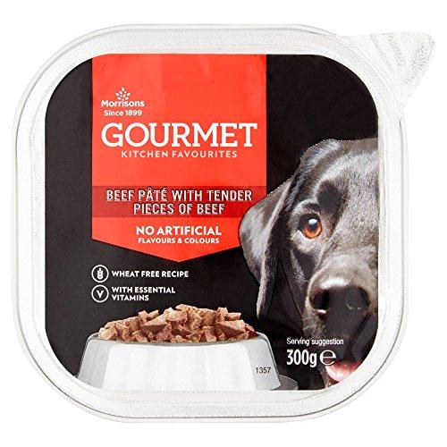 Morrisons Gourmet Pate Just Beef Dog Food, 300 g