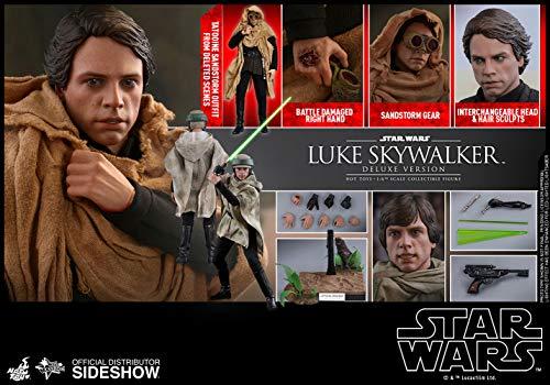 Hot Toys Star Wars Episode Vi Movie Masterpiece Action Figure 1/6 Luke...