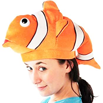 Partilandia Gorro Animal Pez Payaso Foam: Amazon.es: Juguetes y juegos