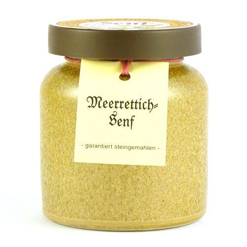 Senfmühle Kleinhettstedt Meerrettichsenf - 270 ml