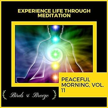 Experience Life Through Meditation - Peaceful Morning, Vol. 11
