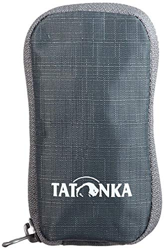 Tatonka Bottle Pouch Pochette Mixte, Gris Titane, 6 x 11,5 x 2 cm