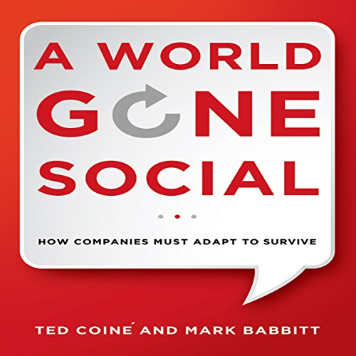 A World Gone Social audiobook cover art