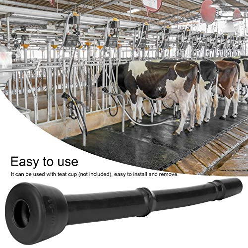 Gummi-Melkfolie, einfach zu installierende Zitzenbecher-Einlage, langlebig weich für Melkbecher-Gruppen Melkmaschinen Schaf- und Rinder-Melkstände