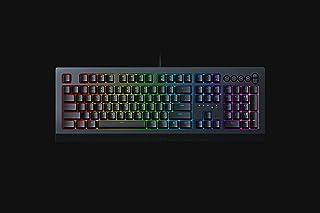 Razer RZ03-03400100-R3M1 Cynosa V2 Chroma RGB Membrane US Layout Gaming Keyboard, Black