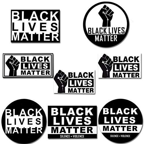 black lives matter aufkleber fur
