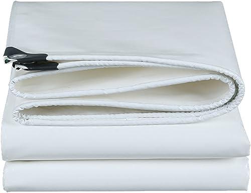 Bache Imperméable Résistante, Bache Extérieure De Camion De Bache De Prougeection Solaire - Blanc ++ (Taille   3 x 6m)