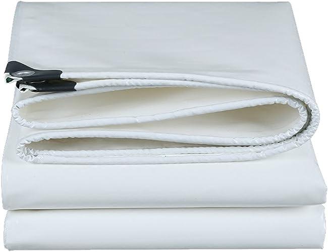 Bache Imperméable Résistante, Bache Extérieure De Camion De Bache De Prougeection Solaire - Blanc (Taille   5 x 5m)