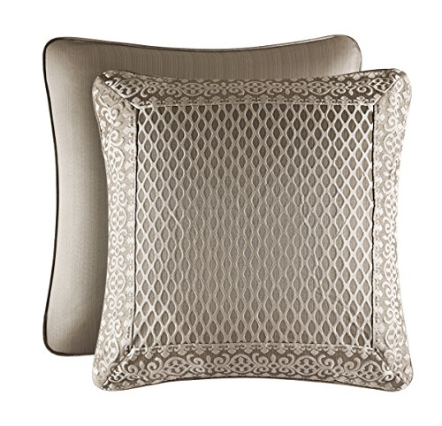 Great Deal! Five Queens Court Beaumont Euro Sham, Champagne