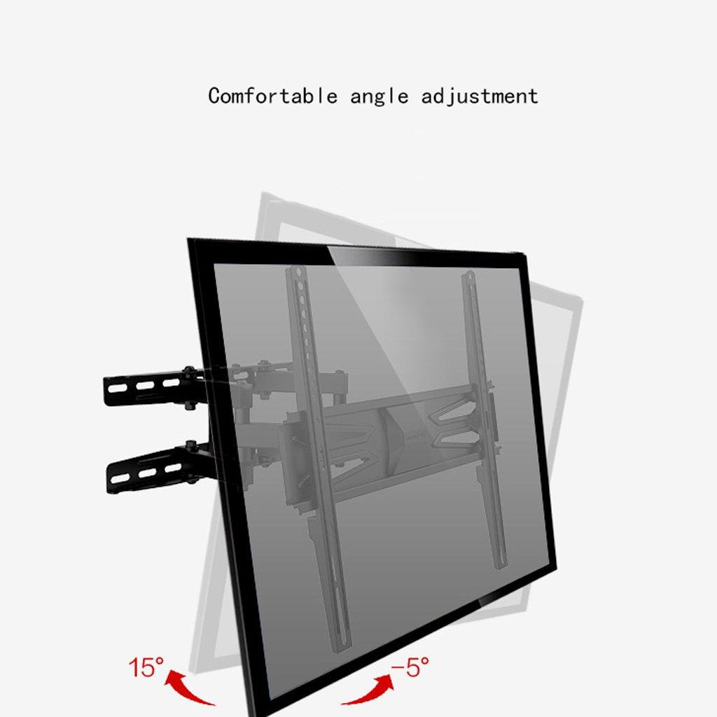 Liutao Rack para TV Soporte para TV Estante Giratorio Telescópico de Montaje en Pared 50/55 Pulgadas (32-60 Pulgadas) (Color : Black, tamaño : 40 * 40cm): Amazon.es: Hogar