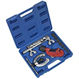 Sealey AK506 10 Piece Pipe Flaring and Cutting Kit, Silver