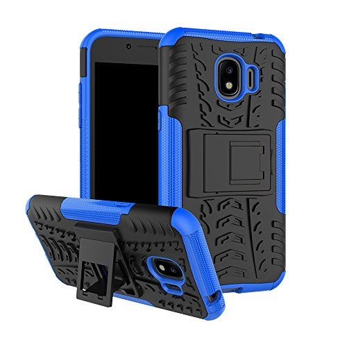 Samsung Galaxy J2 Pro 2018 Coque, FoneExpert® Etui Housse Coque ShockProof Robuste Impact Armure Hybride Béquille Cover Pour Samsung Galaxy J2 Pro 2018 / J2 2018 / Grand Prime Pro