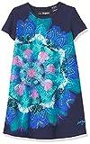 Desigual Vest_Claudia Vestimenta Casual, Blue, 5/6/2020 para Niñas