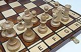 Chessebook JOWISZ - Ajedrez de Madera, Tablero de 41 x 41 cm …