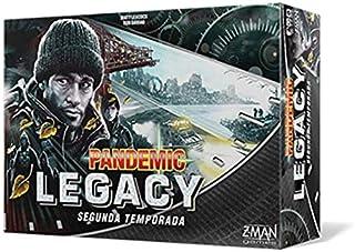 Z-man Games Spanien Pandemic Legacy ZM7173BES (svart kartong) – spansk, färg (ZM7173BES)