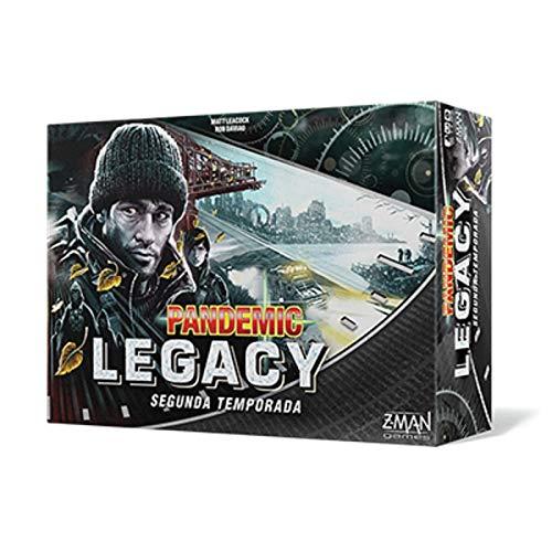Z-man Games España- Pandemic Legacy Segunda Temporada, Español, Color (ZM7173BES)