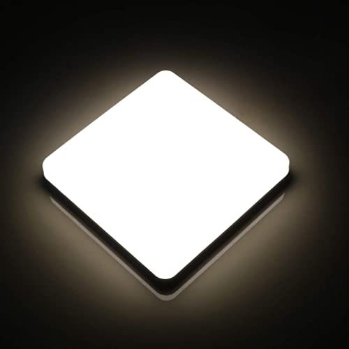 Modern 24w 30cmx30cm Square Led Ceiling Light Led Ceiling: Square LED Ceiling Light: Amazon.co.uk