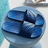 TDYSDYN Sandalias y Chanclas para Unisex,Pareja de Sandalias y Zapatillas de Suela Blanda para Mujer, Zapatillas de baño Antideslizantes para Hombre-2 Marinas_42/43