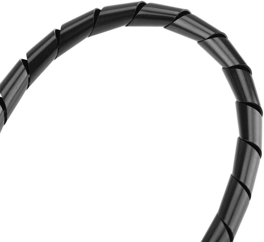 #2 Jadpes Spiraldraht-Kabelumwicklung Schutzkabel-Schutzh/ülle Spiralh/ülsen-Wickelrohr-Organizer-Wickelband f/ür Kabelmanagement im B/üro zu Hause 10 mm