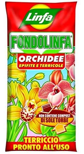 FONDOLIFA ORCHIDEE TERRICCIO PRONTO ALL USO PER TUTTE LE PIANTE ACIDOFILE IN GENERE CONFEZIONE DA 10 LT