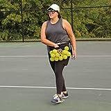 OnCourt OffCourt Handy Hopper – Stores Balls Easily / Fits Around Any Waist / 36 Tennis Ball Capacity
