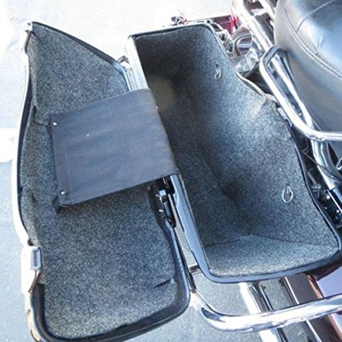 Hard Saddle Bags Carpet Liner Set For All Harley Davidson Touring 94-13 Softside