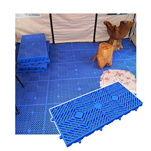 LIANGJUN-Palés Pallet plástico, El Plastico Almacenamiento Almohadilla, Seguridad Estable Antideslizante por Depósito Supermercado Exterior, Conjunto Palet Ligero, Altura 3cm