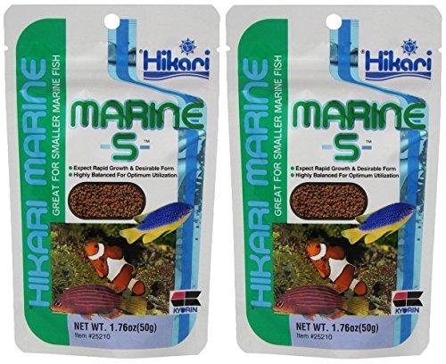 Hikari Usa Inc Marine S pellets, 1.76 Ounces Per Pack (2 Pack)