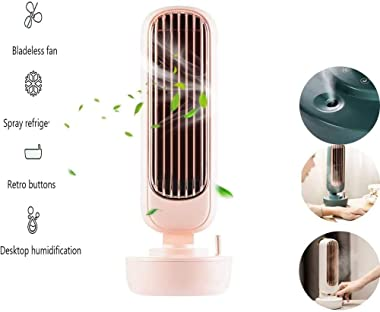 Portableair Conditioning Fan, Retro Air Conditioner Fan, Air Cooler and Humidifier, Third Gear Wind Speed, Evaporative Coolers with Timing Function for Office, Home, Dorm, Travel,B