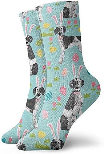 Unisex Mid-length Socks, Unisex Custom Easter Novelty Funny Crazy 3D Print Casual Long Crew Tube Socks