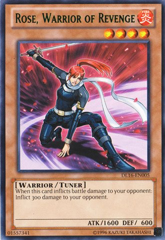 Yu-Gi-Oh! - Rose Warrior of Revenge - Green (DL16-EN005) - Duelist League 16 - Unlimited Edition - Rare by Yu-Gi-Oh!