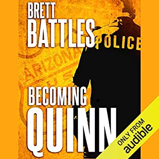 Becoming Quinn audiobook cover art