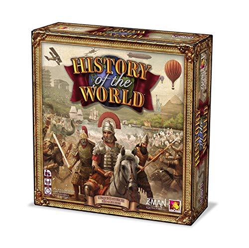 Asmodee History of the World-Gioco da Tavolo Edizione in Italiano (9750 ITALIA), Colore, iZM005