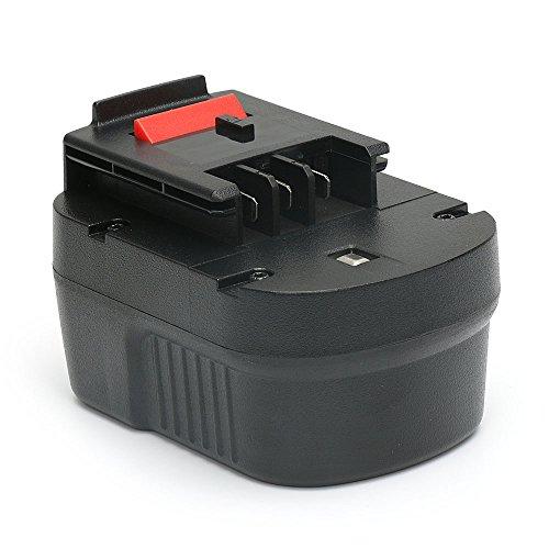 Preisvergleich Produktbild POWERGIANT für Black Decker Akku 12V,  3, 0AH NiMh Ersatzakku für Black & Decker A1712 A12 A12-XJ A12EX B-8315 BD-1204L BD1204L BPT1047 FS120B FS120BX FSB12 HPB12