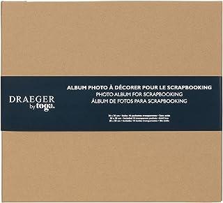 Draeger Paris - Album de Scrapbooking à décorer 20x20 cm -