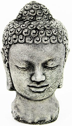 Buddha Head Concrete Home and Garden Statues Asian Yard Art