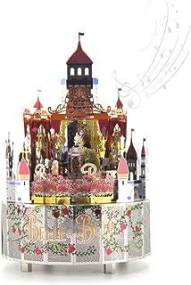 صناديق الموسيقى 3D ثلاثي الأبعاد لغز معدني تجميع نموذج المعماري قلعة منزل صغير ديني صندوق الموسيقى مربع الموسيقى اليدوية ل...