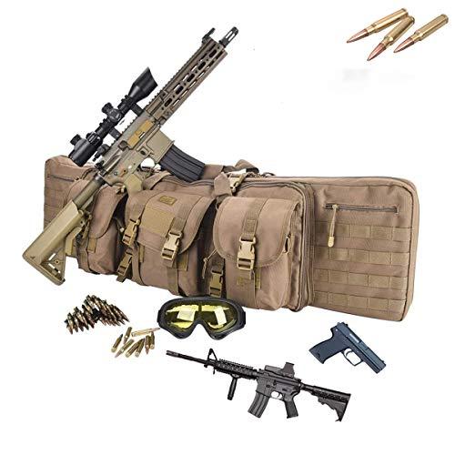 EnweLampi Tragbarer Gewehr Weichkoffer, wasserdichte Jagd-Rucksack, für Haus, Auto, Camping, Wandern, Sport, Arbeit, Überleben und Reisen,42inch