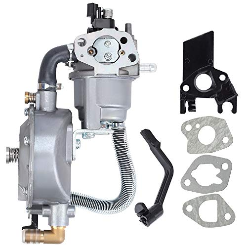 Kuupo GX160 GX200 Dual Fuel Carburetor LPG NG Conversion Kit for Honda GX 160 GX 200 168F 170F Engine Harbor Freight Predator 212 4000 Generator Motors Water Pump