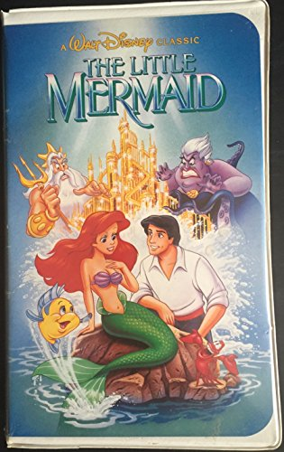 Lowest Prices! Walt Disney's The Little Mermaid RARE Black Diamond Classic (VHS Tape)