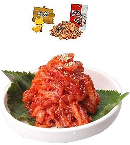 韓国産 チャンジャ イカチャンジャ 1kg + まぜるだけのキムチ素 付き イカ塩辛 오징어젓갈