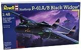 Revell - 04887 - Maquette D'aviation - Northrop P-61a/b - Black Widow - 129 Pièces