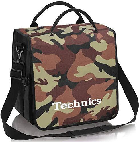 Technics BackBag Bolsa de camuflaje marrón/blanco