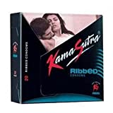 Kama Sutra Ribbed Condoms (20s) Pack of 2