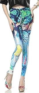 Leggings para Mujer Impresión 3D Pantalones Delgado Cintura Stretch Lápiz Elástico Fitness Pantalones para Correr Pantalones De Jogging